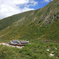 황룽 풍경구 여행 사진