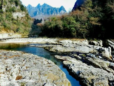 Micang Mountain Ancient Plank Road