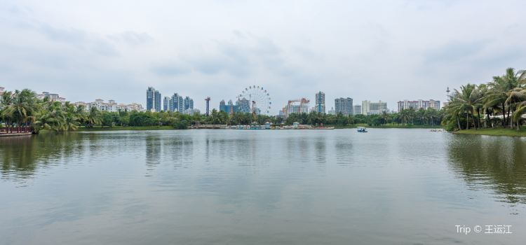 Baishamen Park2