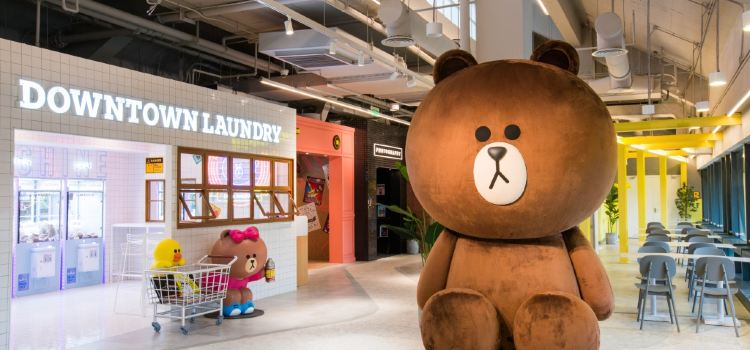 LINE FRIENDS 杭州湖濱銀泰in77店