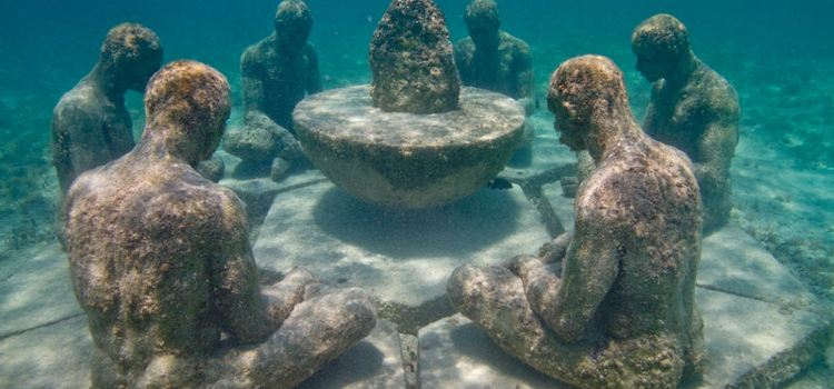 Cancun Underwater Museum1