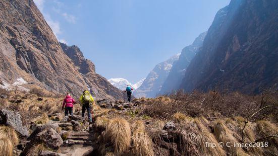 Annapurna Base Camp Trekking Route