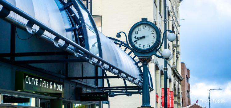 F.W. Francis Street Clock