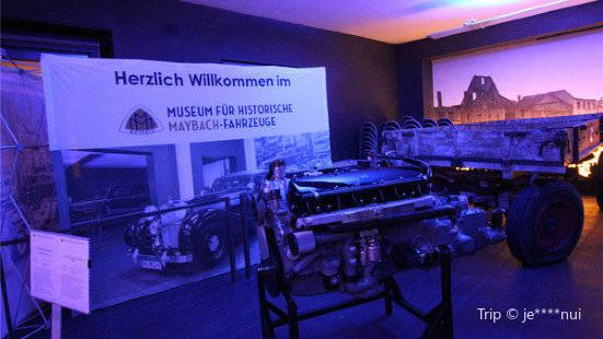 Maybach-Fahrzeuge Museum