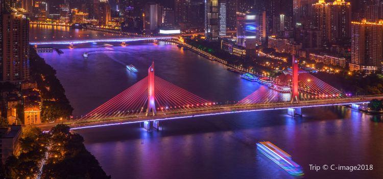 Guangzhou Tower Pier Night Tour1