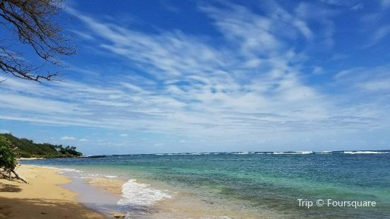 North Aliomanu Beach
