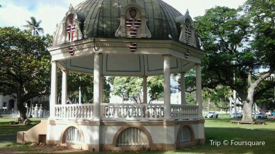 Iolani Bandstand