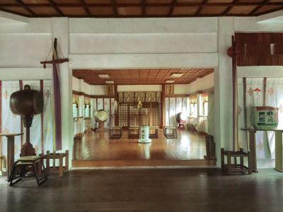 山王神社(一本柱鳥居)