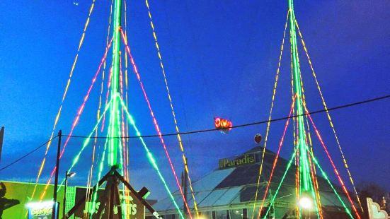 Slingshot Ibiza Amusement Park