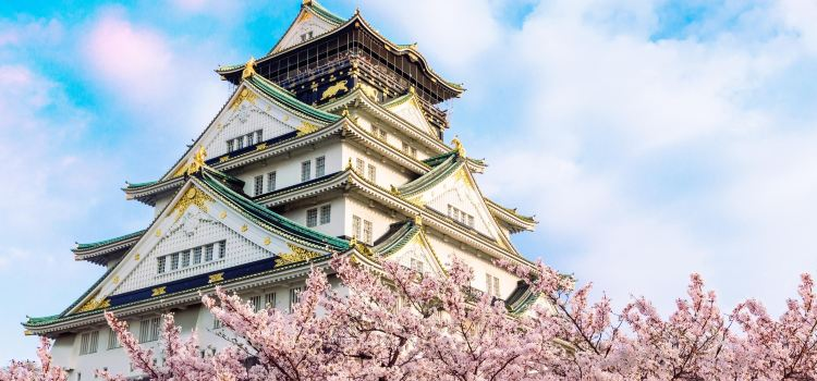 The Main Tower of Osaka Castle