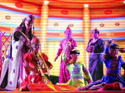 新疆巴音布魯克《東歸·印象》實景演出