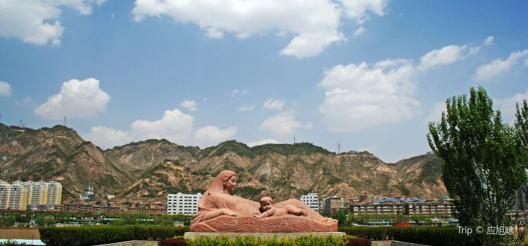 黃河母親雕塑