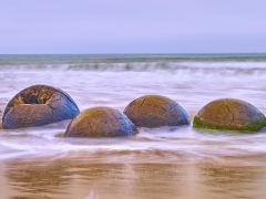 新西兰南北双岛自然风光自驾10日游