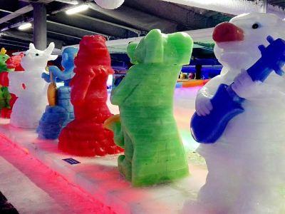 베어 트리오 아이스월드 얼음조각관
