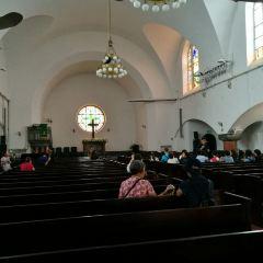 칭다오 기독교당 여행 사진