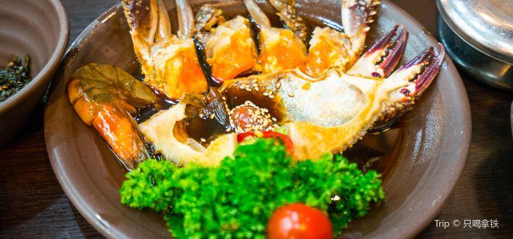 Salty crab sauce3