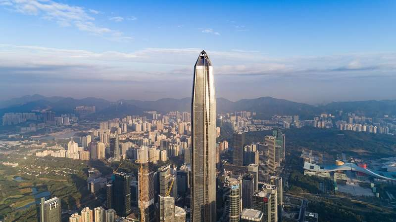 FreeSky Observation Deck of Ping An Finance Centre in Shenzhen