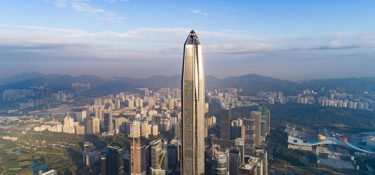 Shenzhen Ping An Financial Center Yunji Sightseeing