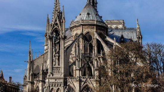 巴黎聖母院大教堂的塔樓