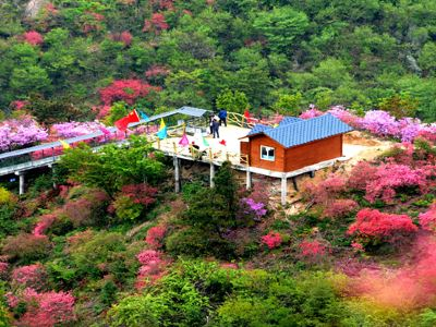 Tianmazhai Scenic Area in Yingshan County