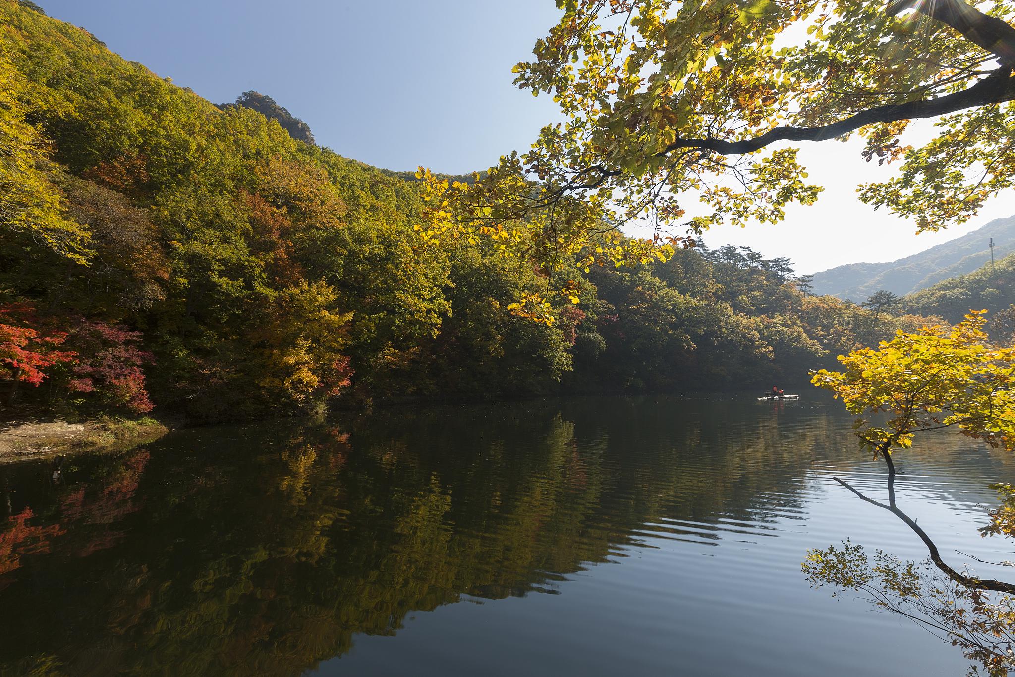 本溪老邊溝風景區