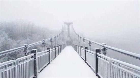 天門山吊り橋