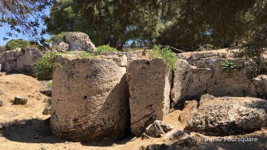 Cave di Cusa (Cusa Quarries)