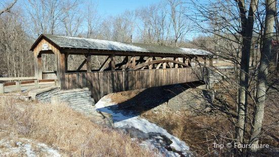 Luther's Mills Covered Bridge aka Knapp's Covered Bridge