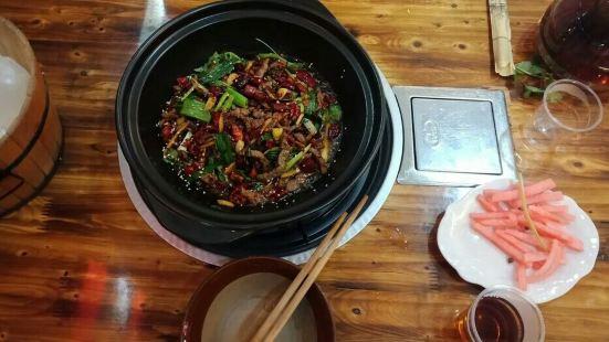 黔香青菜牛肉