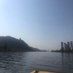 호수변 옛 촌락 여행 사진