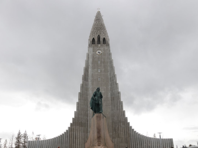 The Statue of Leif Eiriksson
