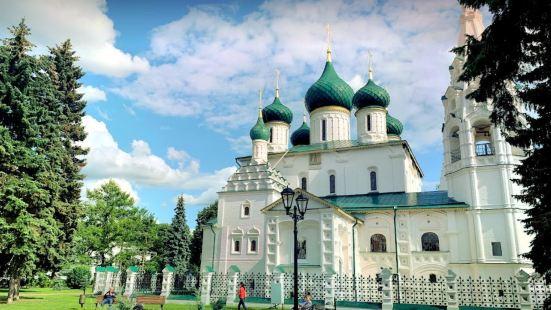 The Church Of Elijah The Prophet in Yaroslavl