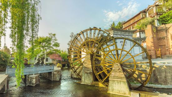 Ancient City Waterwheel