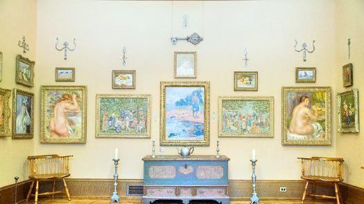 巴恩斯基金會畫廊