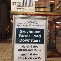 greyhound bus station User Photo
