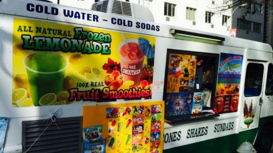 All Natural Frozen Lemonade Truck