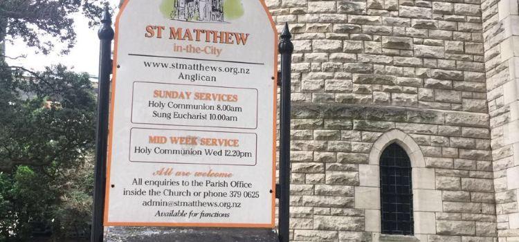 St Matthew-in-the-City教堂3