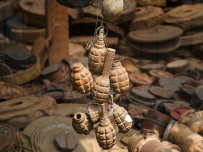 캄보디아 지뢰 박물관