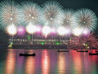 BUSAN 2016 Fireworks Festival