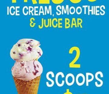 Fresco: Ice Cream, Smoothies & Juice Bar