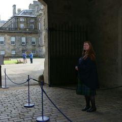 홀리루드 궁전 여행 사진