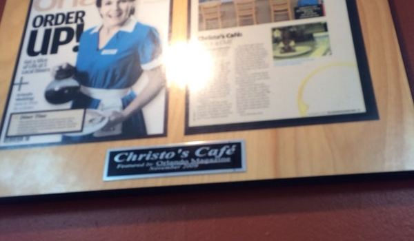 Christo's Cafe Reviews: Food & Drinks in Florida Orlando