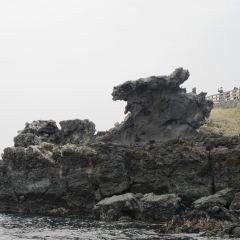 용머리해안 여행 사진