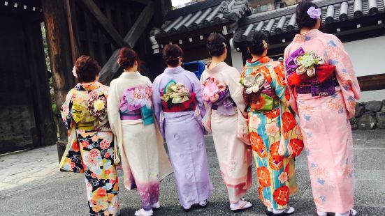 Rental Kimono Gion Komachi Chion-in