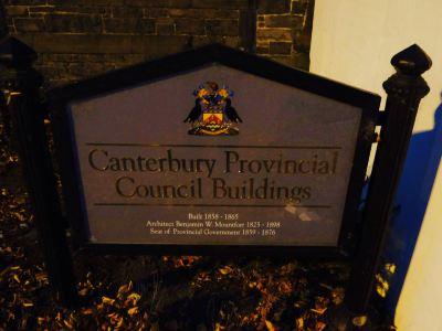 Canterbury Provincial Buildings