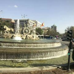 시벨레스 광장 여행 사진