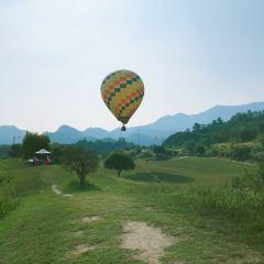 톈지 열기구 여행 사진