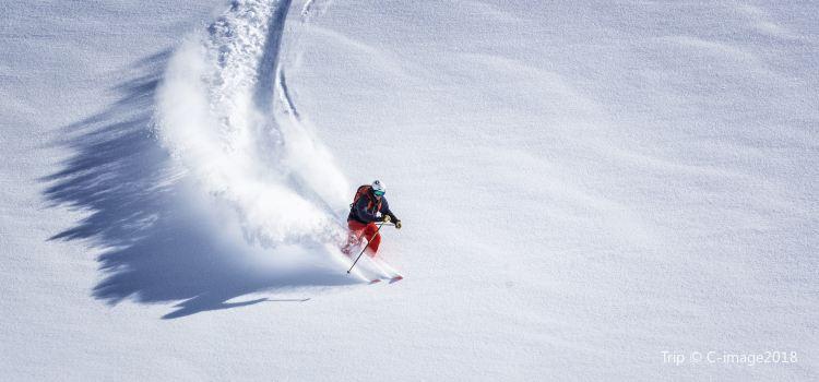 瀋陽棋盤山滑雪場1