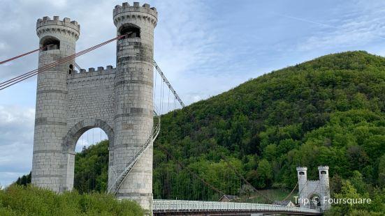 カイーユの吊り橋
