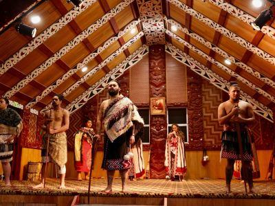 塔瑪基毛利村寨